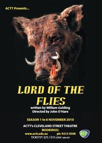 Cleveland St. Theatre presents LORD OF THE FLIES 1-6 Nov